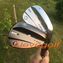 2017 New golf wedges SM6 wedges steel grey silver jet black 50 52 54 56 58 60 degree 3pcs lot OEM quality golf clubs