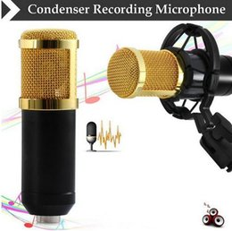 Wholesale hot sale BM Dynamic Condenser Wired Microphone Mic Sound Studio for Recording Kit KTV Karaoke