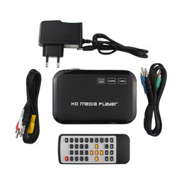 Descuento el jugador del sd para la televisión Venta al por mayor 1080p Full HD HDMI Media Player H.264 MKV HDD HDMI Media Player Centro USB OTG SD AV TV AVI RMVB RM HD02