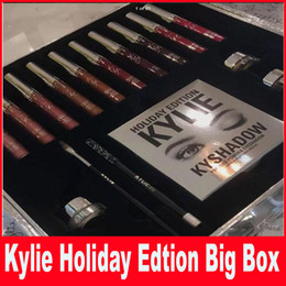 Wholesale Christmas Gift Kylie Cosmetics Holiday Collection Big Box PREORDER INTERNATIONAL Holiday Collection big box top quality best price