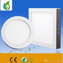 Купить Онлайн Поверхность панели-18W круглые светодиодные панели потолочные светильники накладные потолочные светильники с высоким качеством для внутреннего освещения OED-AS8R-18W