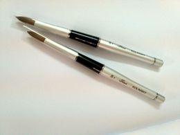 Discount Free Shipping Pure Kolinsky Acrylic Nail Brush Round Shape for Nail Beauty and Nail Salon