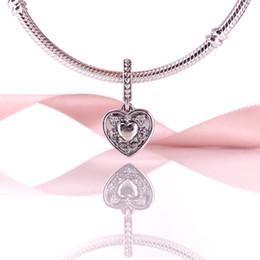 Factory Price Authentic 925 Sterling Silve Bead My Wife Always Pendant Charm Fit European Wmomen DIY Bracelet Necklace Jewelry 792099CZ