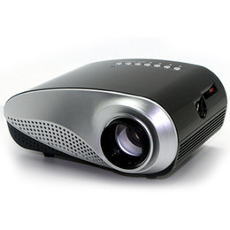 Wholesale Portable Mini Led Projector Lumens Projection Size Inch With Speaker HDMI SD USB VGA AV TV Home Theater System Beamer