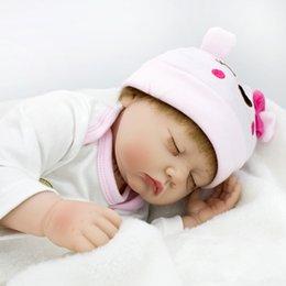 55cm Realistic Reborn Baby Doll Cloth Body Life Like Newborn Baby Girl Kids Child Birthday Gift Toys