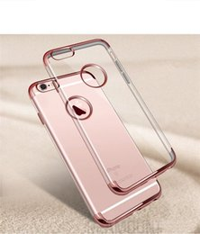 200 pcs Wholesale Luxury Coloful Soft TPU Transparent Phone Case Clear Nature Soft Silicone Cover For Samsung Galaxy S7 Edge