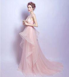 Wholesale Romantic Wedding Dresses Wtih Colors Sweetheart A Line Bridal Wear Vestidos de Novia Beautiufl Wedding Dresses Online