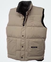 Canadian outdoor cold resistant down jacket, men's vest, winter sports vest, down vest, Canadian down vest