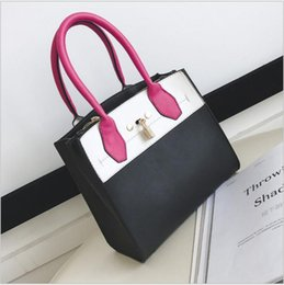 Fashion Star With the Style D Handbag 2017 New Color of the Handbag With a One-Shoulder Shoulder Bag