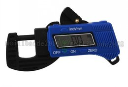 Wholesale NEW Precise Electronic Digital LCD Thickness Caliper Gauge Meter Tester Micrometer MYY