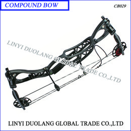 Wholesale black Compound Bow Hunting Bow lbs quot quot with Max Speed fps both right and left hand for adult arrow set