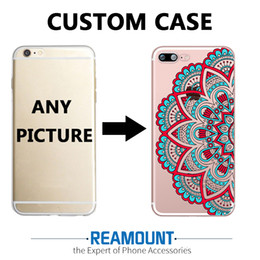 3D Mandalas DIY Customize LOGO & Picture Back Cover Case for iphone 6s plus for Samsung s7 edge Unique Shell Phone Cover Case