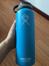 Wholesale DHL SEND new Hydro Flask OZ Outdoor Coolers Stainless Steel Insulation Cup Cars Beer Mug