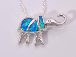 Wholesale & Retail Fashion Jewelry Fine Blue Fire Opal Stone Silver Plated Pendants For Women PJ16021418