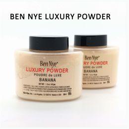 Wholesale KKXX Ben Nye Banana Loose Powder Cheap and Top Quality China Face Powder Makeup Brand Matte Concealer Face Powder