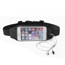 Wholesale Venta al por mayor impermeable Gimnasio Fitness Deportes al aire libre cintura Bolsa Sport Case para iPhone Samsung Galaxy Running Wallet Mobile Phone Bolsa