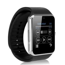 Promotion apple iphone montres intelligentes GT08 Smart Watch Smartwatch avec carte SIM Slot NFC Health Watchs pour Android Samsung et IOS Apple Iphone Watches Haute qualité