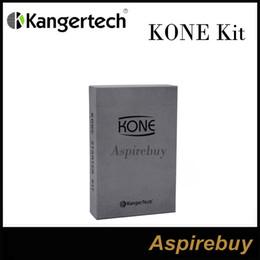 Wholesale Kanger KONE Starter Kit Built In mAh Battery Kanger KONE Mod with ML Kanger Pangu Atomizer Short Circuit Protection Kone Kit Original