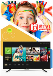 2017 tv lcd led 55 TCL 50 pouces de ressources vidéo massives WeChat interconnecté Huit téléviseurs LCD à LED intelligente Android Android Hélas! Smart TV 1920 x1080 resolutio tv lcd led 55 autorisation