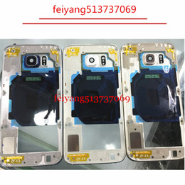 10pcs Top quality LCD Middle Plate Housing Frame Bezel For Samsung Galaxy S6 G920 S6 edge G925
