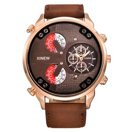 Compra Online Reloj del ejército suizo deporte militar-Los relojes militares de los deportes del ejército del ejército del reloj ocasional del cuarzo de los hombres de la alta calidad suizos diseñan los relojes del cuero de la fecha Los relojes de los hombres de la manera