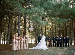 Wholesale Champagne gold long skirt length Alfred short sleeved clothes bridesmaid dress Liptek floor banquet
