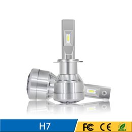 Factory Price Patented High Power with adjustable angel chuck 360 dimming Light LED Headlight Bulb H7 brightness and focus