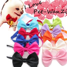 50pcs The dog the tie bow tie pet accessories