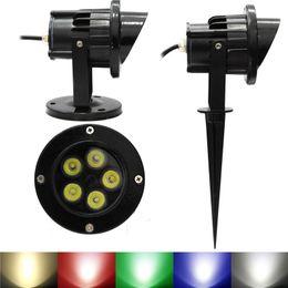 Outdoor LED Garden Spot lights 6W 10W LED Floodlights Wall Yard Path Pond LED Lawn Light Landscape Lighting Lamps 12V 85 265V