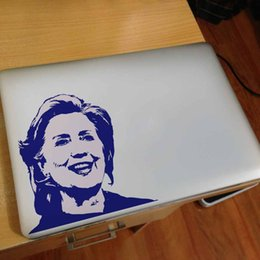 American 2016 presidential election Hillary laptop sticker