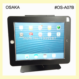 Wholesale for iPad air air2 pro quot table security kiosk stand with anti theft enclosure display on desktop or counter