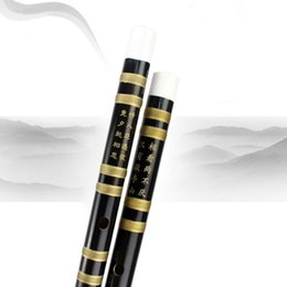 2017 g traditionnel Wholesale-1 set Dizi, Instrument de musique traditionnelle chinoise Flûte en bambou faite à la main en C à G clés SS g traditionnel sur la vente