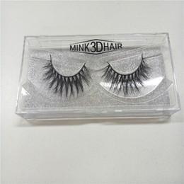 Promotion cils de scène New Stage maquillage naturel cils faux Mink eau faite à la main 3D faux cils naturelles cils épais yeux