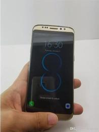 Pouces 1gb en Ligne-Goophone S8 bord téléphone 5,5 pouces Android6.0 s8 Téléphone Téléphone Quad Core 1 Go + 4 Go montrent faux 64 Go Unlock vs S7 S7 EDGE