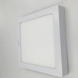 Купить Онлайн Поверхность панели-12W поверхностного монтажа Светодиодные панели огни площади Круглый светодиодный светильник Потолочный светильник с LED Driver питания AC110V-240V