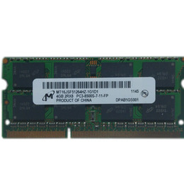 Notebook Memory 8GB DDR3 1066 4GB 2Rx8 PC3-8500S ram 2GB laptop for ThinkPad G400 S400 G490 B490 B480 K29 X200 SL410 SL410K SL510 TFI Y550