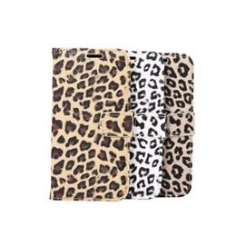Lg sachets en plastique en Ligne-Pour Galaxy S8 / Plus / LG G6 / Huawei P10 / Plus Cas Animal Leopard Portefeuille En Cuir Flip Cover Plastique De Crédit Carte D'identité Poche Porte-Mode
