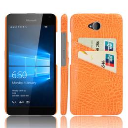 Wholesale Moda PU Funda de cuero de la tarjeta para Nokia Lumia Slim de la tarjeta de crédito de la cartera de la piel del caso duro Volver a granel Funda de la caja del teléfono