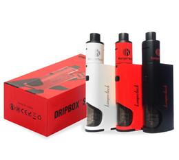 Kanger Dripbox Starter Kit 60W Drip Coil Subdrip tank dripbox Variable Wattage Box Mods E cigs kangertech vaporizer vape