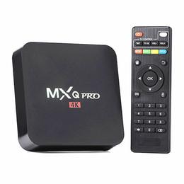 Wholesale MX MXQ PRO Android Rockchip RK3229 quad core stream smart internet android tv box support HDMI USB WiFi Lan K H