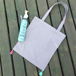Venta al por mayor- YILE Handmade Tassel lona hombro compras Tote bolsa única ZT11 desde la bolsa de asas de transporte al por mayor fabricantes