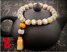 bead bracelet garnet Buddha beads men bracelet pulseras mujer Nepal couple bracelet