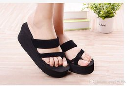 girls sandals platform shoes women slippers eva open toe wedges summer