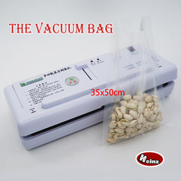 35*50cm Nylon vacuum bag food grade  Kitchen supplies   Saving storage bag   Keep Food Fresh . Spot 100  package