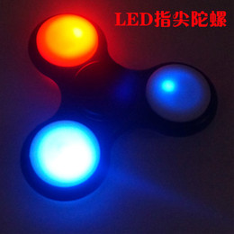 Hand Spinner Tri Fidget Desk Toy EDC Stress Relief ADHD Kids Adults led lights gifts fingertoy Educational Toy Handmade specialneedsautism