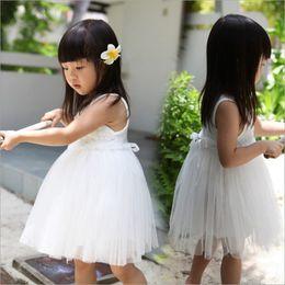 Promotion vêtements de ballet pour bébé Vêtements pour bébés pour bébés 2017 robes de filles en fleurs chinoises en été Enfants d'été Robes de ballet en or Robe de soirée en costume de princesse Vêtements pour bébés # W03