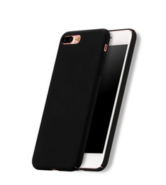 New Thin Slim Hard PC Full Surround Solid color Case Cover For iPhone 7 7 Plus Cell Phone BD0213A17