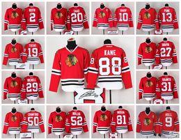 Wholesale Chicago Black Hawks Hockey Signature Jersey MARIAN HOSSA TERAVAINEN PATRICK KANE SEABROOK HULL SHAPP