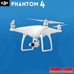 2017 4k caméra drone Nouveau DJI Phantom 4 Caméra Drone FPV 4K Quadcopter Visual Tracking Suivez-moi TapFly Sport mode Obstacle Sensing System + B abordable 4k caméra drone