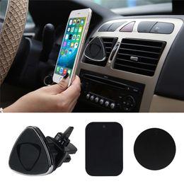 2017 vent mount gps Vente en gros de voiture de haute qualité Magnetic Air Vent Mount Holder Stand pour IPhone Mobile Cell Phone GPS vent mount gps ventes